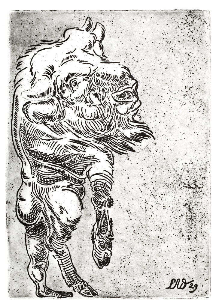 Lisa Wiersma - Mythe (Minotauros)